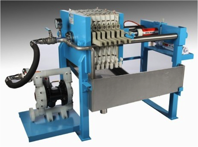 Filter Press with feed pump by Latham International